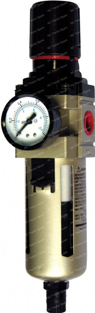 "1"" Outlet Filter Regulator c/w Gauge"
